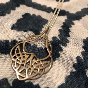 Jewelry - 🔴 Celtic Sterling Silver Pendant on Chain